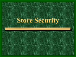 Store security – Triad Municipal ABC Board