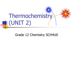 thermo chemi first lesson