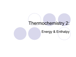 Thermochemistry 2