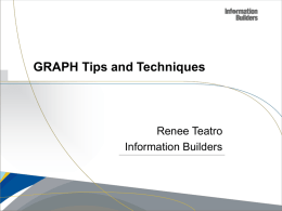 GRAPH Tips and Techniques