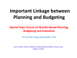 2a Country 1_aCAM Link planning and budgeting, Lim Sothea
