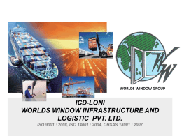 Worlds Window Infrastructure and Logistic Pvt. Ltd