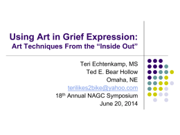 Using Art in Grief Expression A Survey of Three Art Techniques