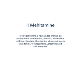 Mehitamine on