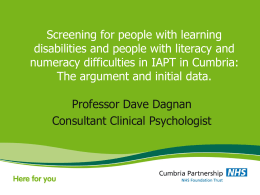 Cumbria Partnership