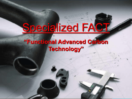 Specialized FACT Carbon Presentation