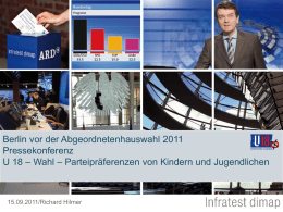 ARD-DeutschlandTREND - Hertie School of Governance