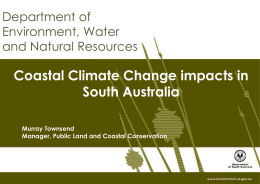 Policy on Coast Protection and New Coastal Development