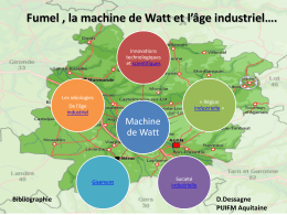 machine de Watt - CRDP Aquitaine