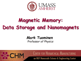 Magnetic Data Storage