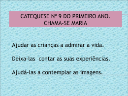 1º Ano catequese 9
