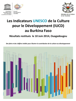 Les Indicateurs UNESCO de la Culture pour le