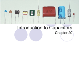 Class I, II, and III Dielectric Capacitor Codes