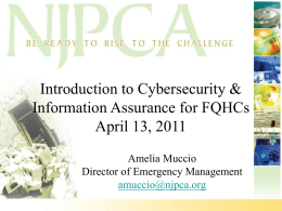 Cybersecurity and Information Assurance PPT