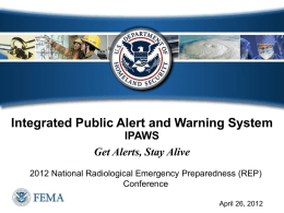 Session 24_FEMAs Integrated Public Alert and