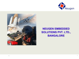 Product - Neugen - Embedded Solutions