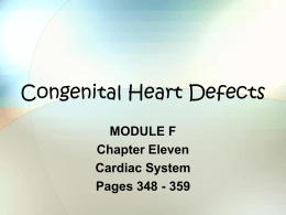 Congenital Heart Defects - Macomb