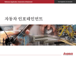 Reference Application: Automotive Infotainment 로우 노이즈 앰프