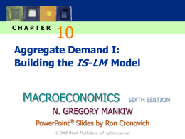 Mankiw 6e PowerPoints