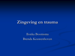 Zingeving en trauma (workshop)