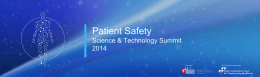 The Patient Safety Movement