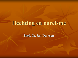 Hechting en narcisme