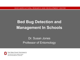Bed Bugs - The Ohio State University