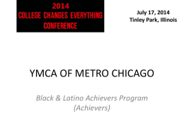 Black-Latino Achievers Program