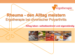 Vortrag downloaden - Ergotherapie Austria