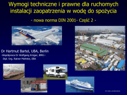 nowa norma DIN 2001