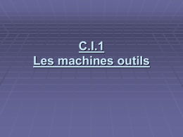 machine outil - prof