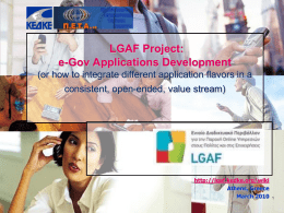 Local Government Access Framework (LGAF)