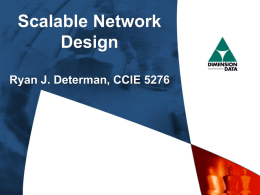 NetworkDesign...cont