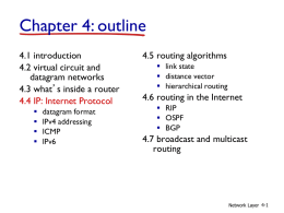 Chapter 4. Network Layer