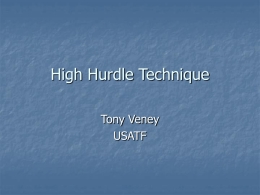 Hurdle Technique