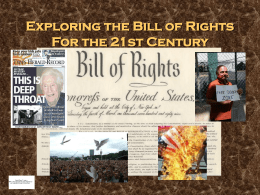 Bill of Rights MSandHS version 1