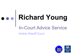 Richard Young - Consumer Focus