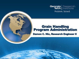 Grain Handling Program Administration