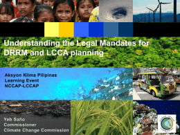 March 22-23 Presentations_Climate Change Commission 2