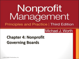 Board Responsibilities - masonnonprofitfellows