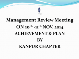 Kanpur Chapter