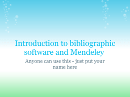 Copy_of_Introduction_to_Mendeley