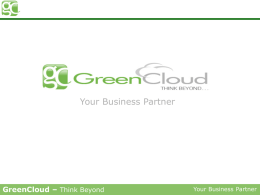 GreenCloud Inc.