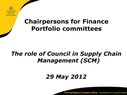 SCM - Limpopo Treasury