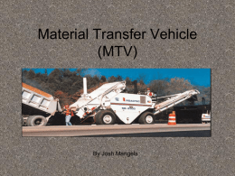 Material Transfer Vehicle (MTV)