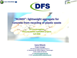 NUMIX - lightweight aggregate for concrete from - WBC