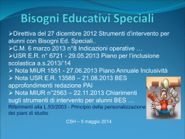 BIsogni Educativi Speciali 2