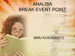 Break Event Point