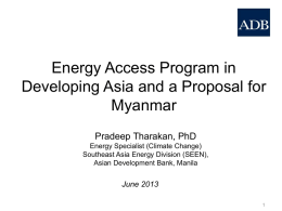 ADB_MYA_RE_Presentation_31_May2013_FINAL