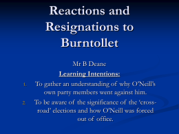 Northern_Ireland_files/Reactions and Resignations to Burntollet